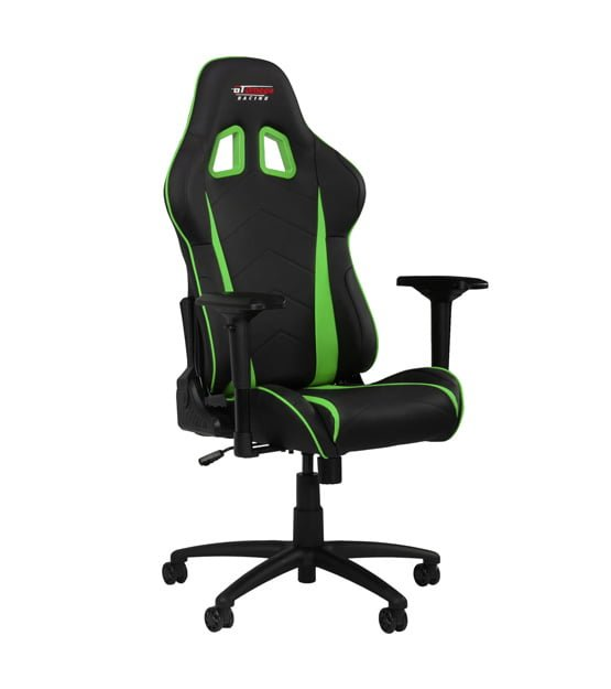 GT Omega Racing PRO Office Chair Green at The Gamers Lounge Shop Malta