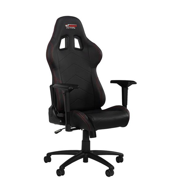 GT Omega Racing PRO Office Chair Black at The Gamers Lounge Shop Malta