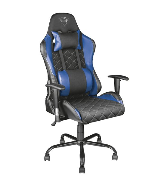 Trust Gaming Resto Gaming Chair Blue at The Gamers Lounge Shop Malta