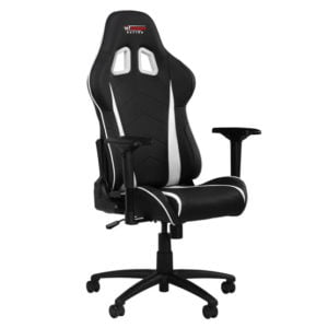 GT Omega Racing PRO Office Chair White at The Gamers Lounge Shop Malta