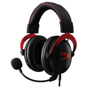 HyperX Cloud II Red / Black at The Gamers Lounge Shop Malta