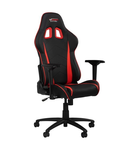 GT Omega Racing PRO Office Chair Red at The Gamers Lounge Shop Malta
