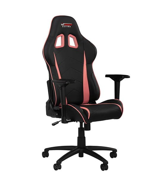 GT Omega Racing PRO Office Chair Pink at The Gamers Lounge Shop Malta