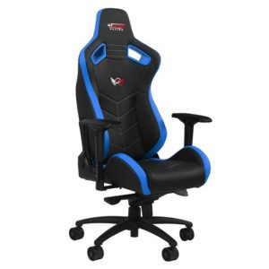 GT Omega Racing Sport Office Chair - Blue at The Gamers Lounge Shop Malta