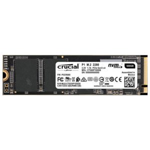 Crucial P1 500GB M.2 SSD at The Gamers Lounge Shop Malta