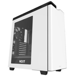 NZXT Computer Case H440 White-black at The Gamers Lounge Shop Malta