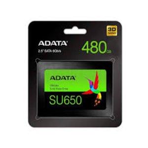 ADATA SU650 480GB SSD at The Gamers Lounge Shop Malta