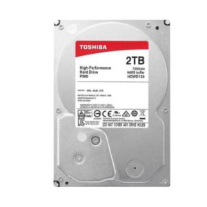 Toshiba 2TB HDD at The Gamers Lounge Shop Malta