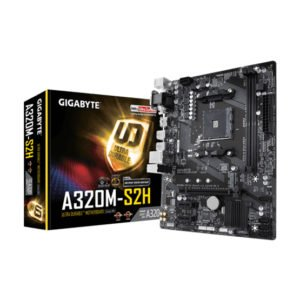 Gigabyte A320M-S2H Motherboard at The Gamers Lounge Shop Malta