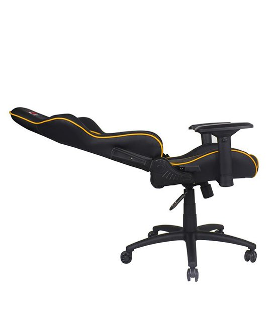 GT Omega Racing PRO Office Chair Yellow at The Gamers Lounge Shop Malta