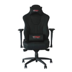 GT Omega MASTER XL Racing Office Chair Black Leather at The Gamers Lounge Shop Malta