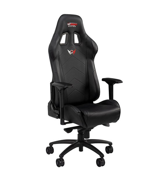 GT Omega Racing PRO XL Black at The Gamers Lounge Shop Malta