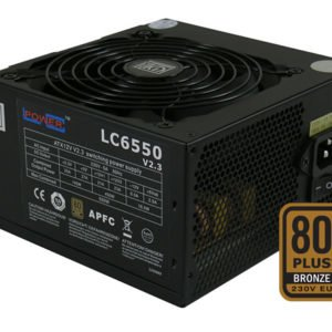 LC Power LC6550 V2.3 PSU at The Gamers Lounge Shop Malta