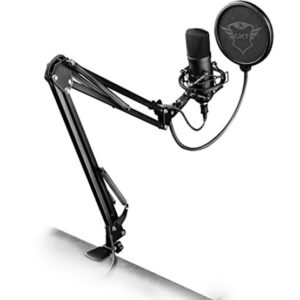 Trust GXT252 Emita Plus Streaming Microphone at The Gamers Lounge Shop Malta