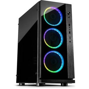 Intertech W-III RGB Case at The Gamers Lounge Shop Malta