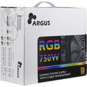 Argus 750w Modular RGB Gold PSU at The Gamers Lounge Shop Malta