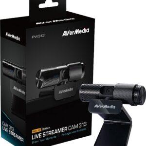 Avermedia Live Streamer Cam 313 at The Gamers Lounge Shop Malta