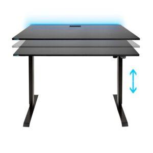 SyberDesk Electric PRO LED Gaming Desk