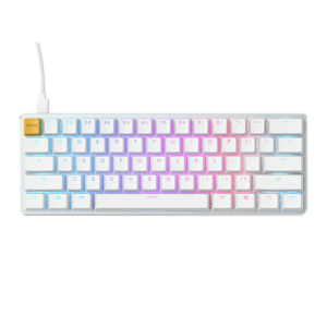Glorious GMMK Compact White Brown Switch