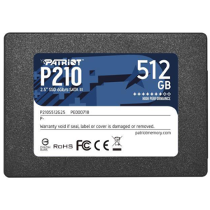 Patriot 512GB SSD P210 at The Gamers Lounge Shop Malta