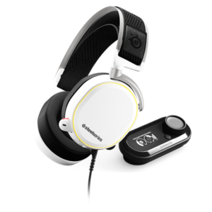 SteelSeries Arctis Pro and GameDAC White Headset at The Gamers Lounge Shop Malta